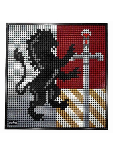 Lego Lego Art 31201 Harry Şotter# Hogwarts# Crests Yaşım Seti Renkli